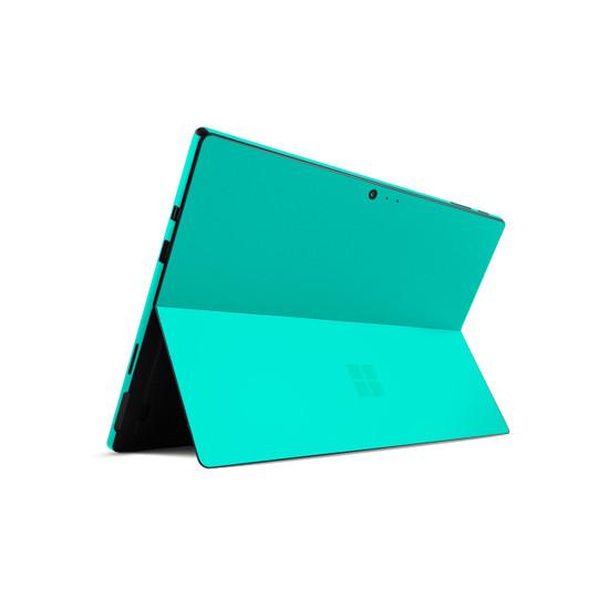 Happy Turquoise Microsoft Surface Pro 6 Skin