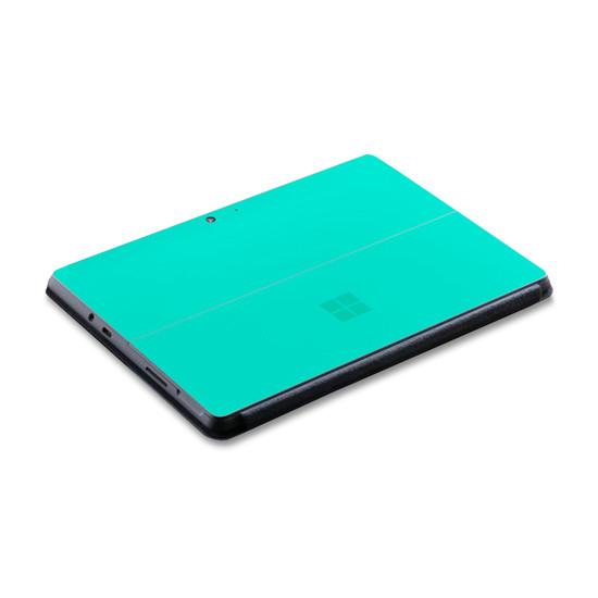 Happy Turquoise Microsoft Surface Go 2 Skin