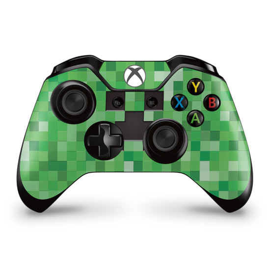 Pixel Creeper  Xbox One Controller Skin