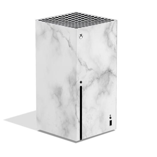 White Marble Xbox Series X Skin