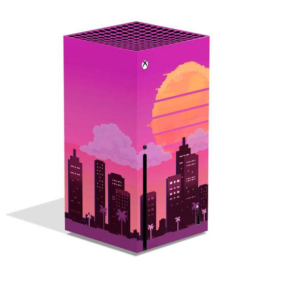 Vice Sunset Xbox Series X Skin