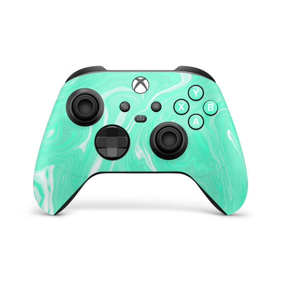 Mint Marbling Xbox Series X | S Controller Skin