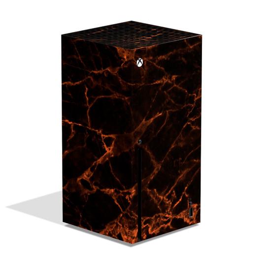 Magma Marble Xbox Series X Skin