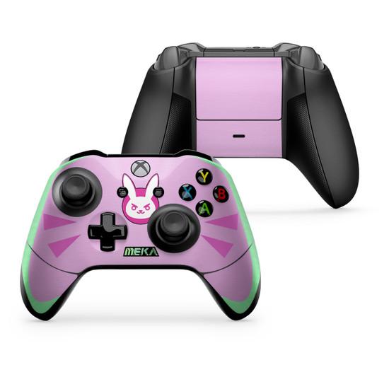 D.va Pink Xbox One X/S Controller Skin