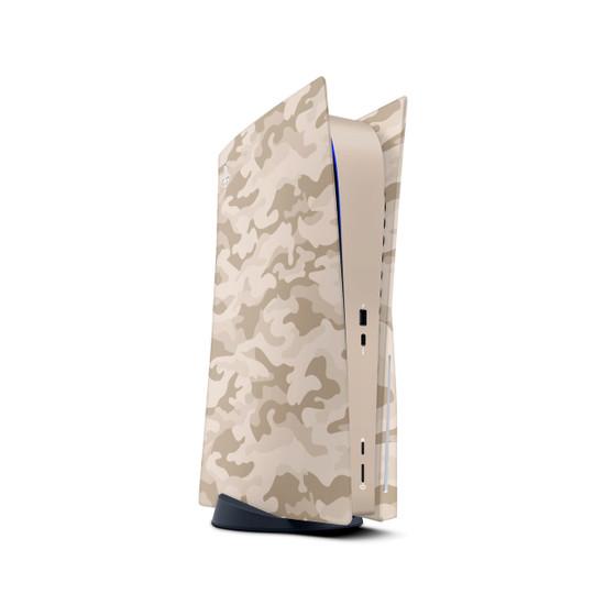 Sandstorm Camouflage Playstation 5 Console Skin