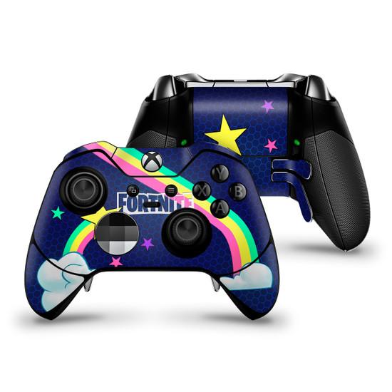 Rainbow Rider Xbox One Elite Controller Skin Fortnite Fan Art