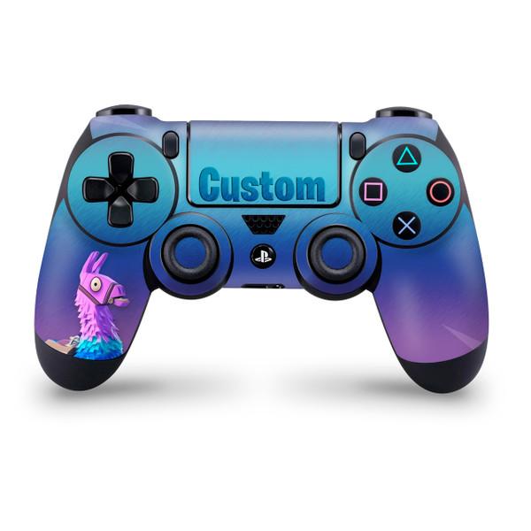 Loot Llama Custom Playstation 4 Controller Skin