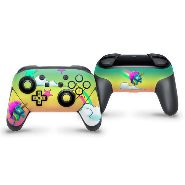 Rainbow Smash Nintendo Switch Pro Controller Skin