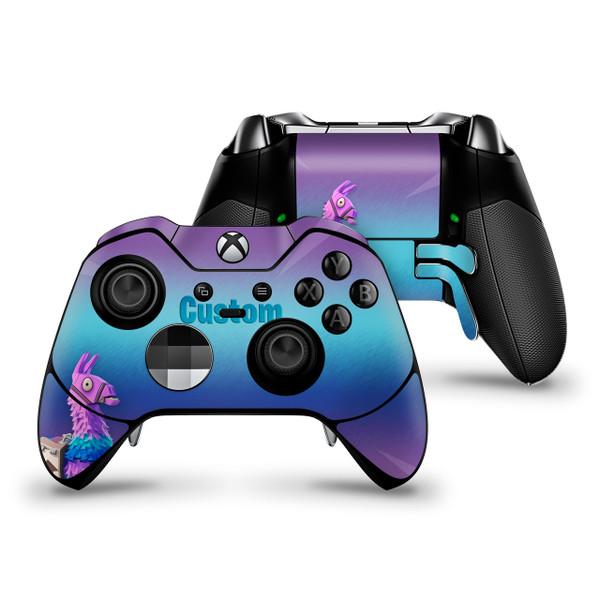 Loot Llama Custom Xbox One Elite Controller Skin