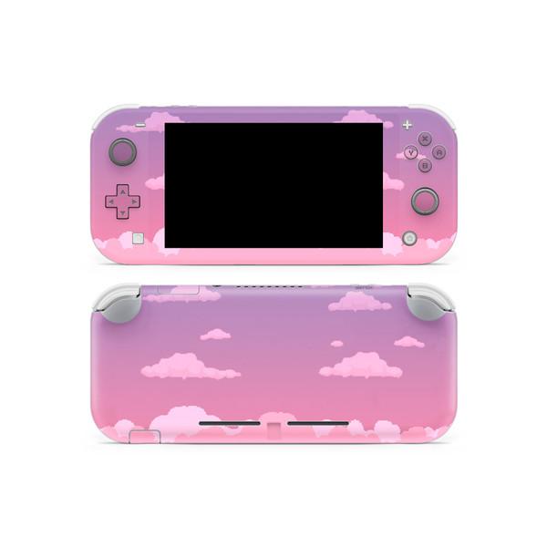 Dreamy 8-Bit Clouds Nintendo Switch Lite Skin