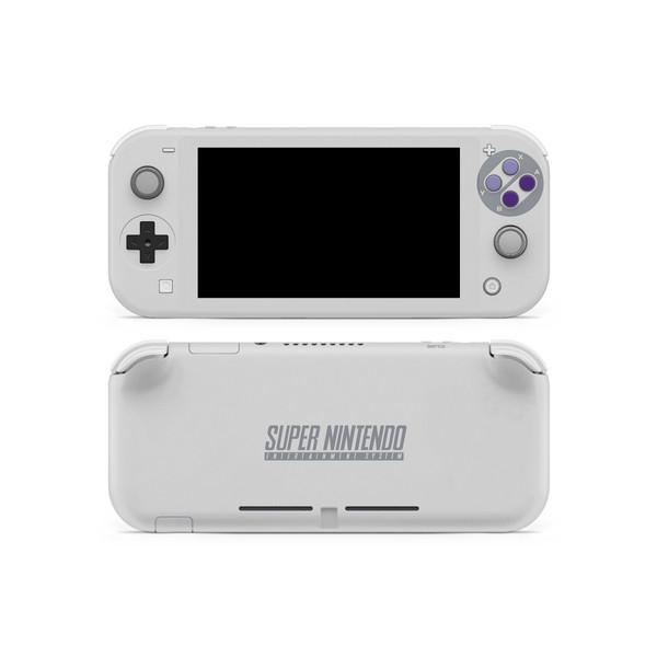 SNES Ntsc Theme Nintendo Switch Lite Skin