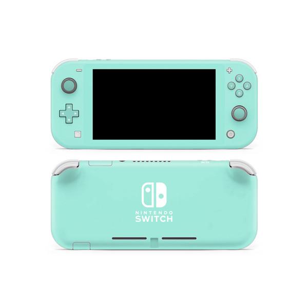Water Leaf Nintendo Switch Lite Skin