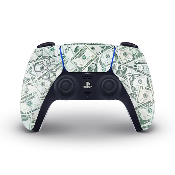 USD Bills Playstation 5 Controller Skin