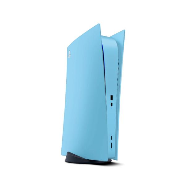 Sky Blue Playstation 5 Digital Edition Console Skin