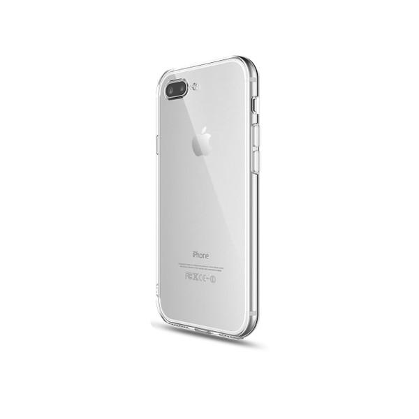 iPhone 8/7 Plus Crystal Clear  Soft Gel TPU Flexible Case