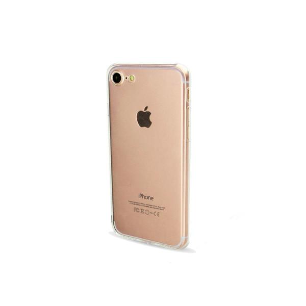 iPhone 8/7 Crystal Clear  Soft Gel TPU Flexible Case