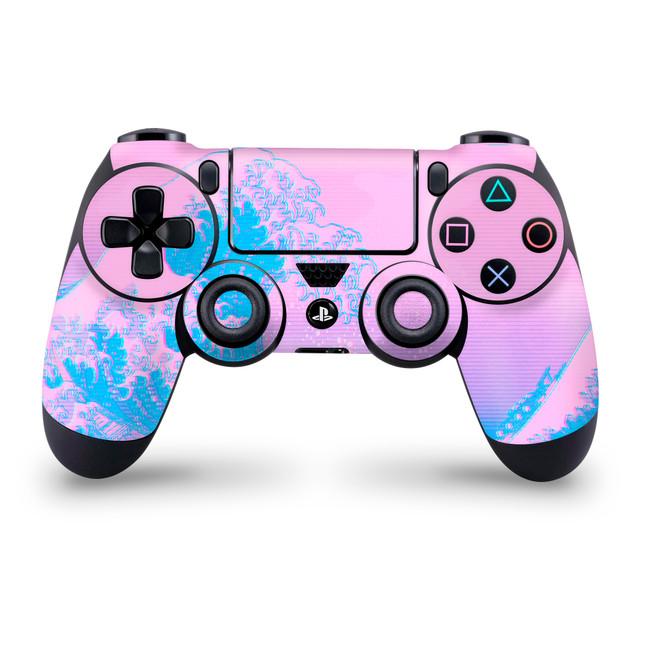 Kanagawave Playstation 4 Controller Skin