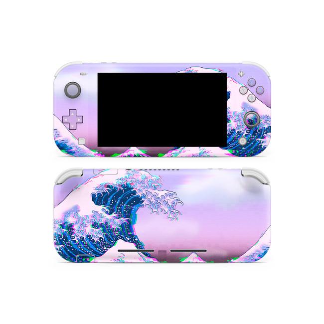 Glitchwave Nintendo Switch Lite Skin