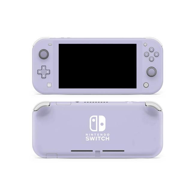 Lavender Grey Nintendo Switch Lite Skin
