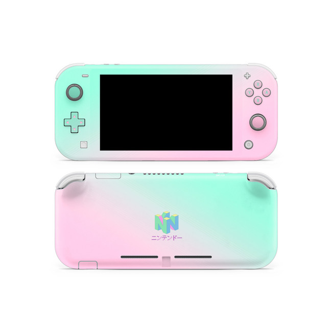 64 Aesthetic Nintendo Switch Lite Skin