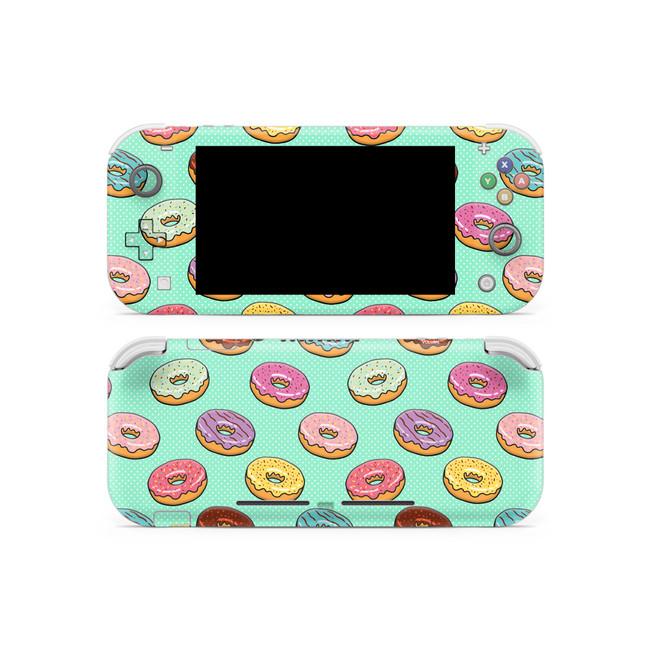 Donuts Nintendo Switch Lite Skin