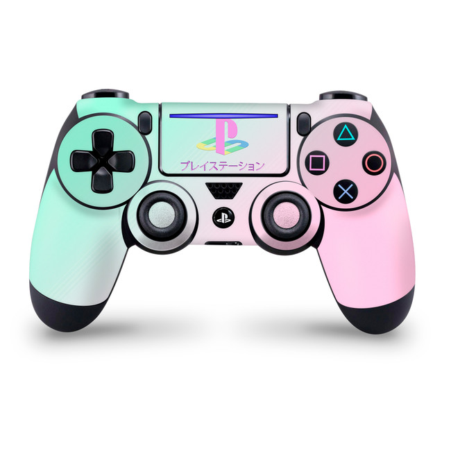 Ps Aesthetic Playstation 4 Slim / Pro Controller Skin