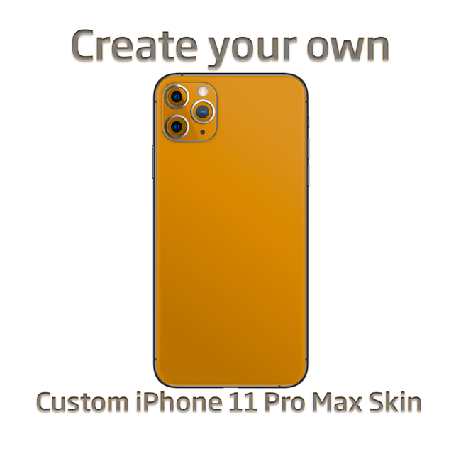 Create Your Own Apple iPhone 11 Pro Max Custom Skin