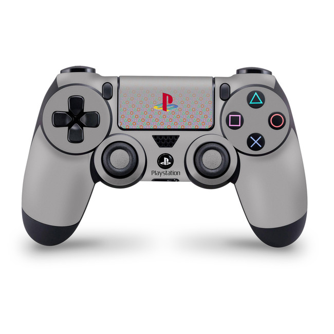 Ps One Classic Colour button Touchpad Ps4 Controller Skin