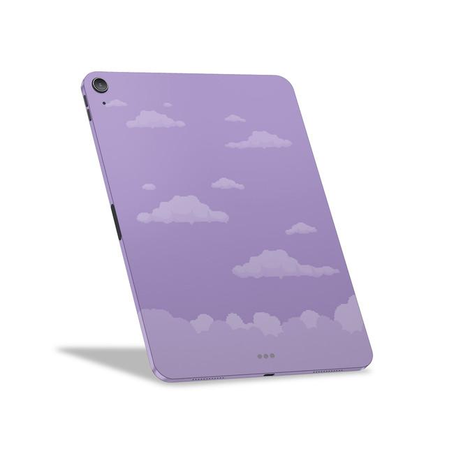 8-Bit Dull Lavender Clouds Apple iPad Air [4th Gen] Skin