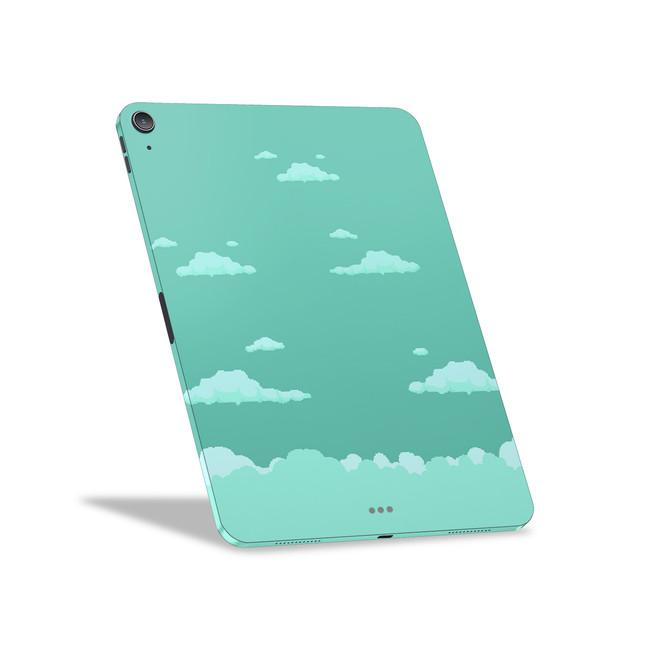 8-Bit Neptune Clouds Apple iPad Air [4th Gen] Skin