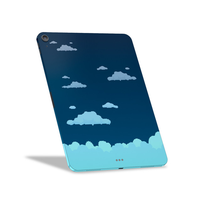 Night Sky 8-Bit Clouds Apple iPad Air [4th Gen] Skin