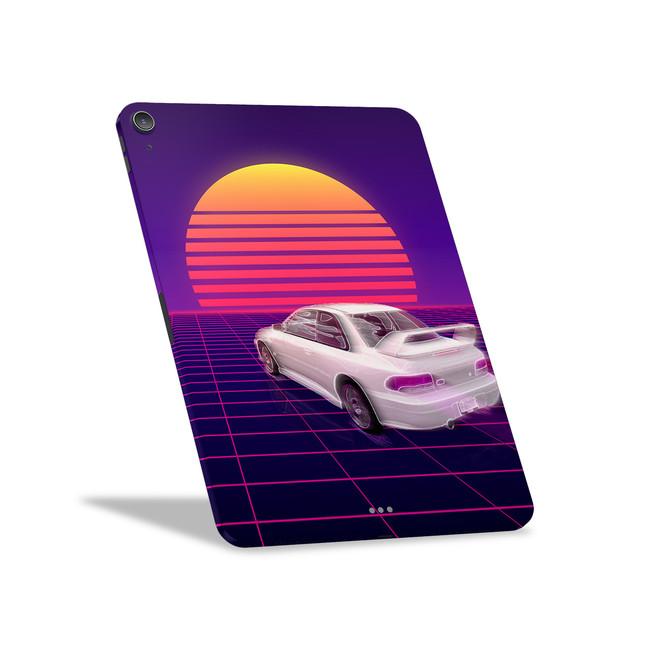 Retro Outrun 22B Apple iPad Air [4th Gen] Skin