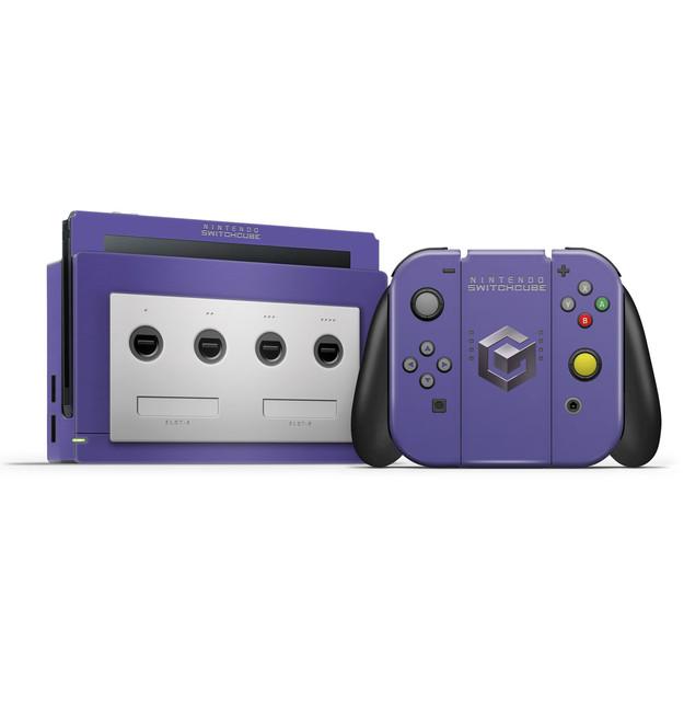Gamecube V2  Nintendo Switch  Skin Set