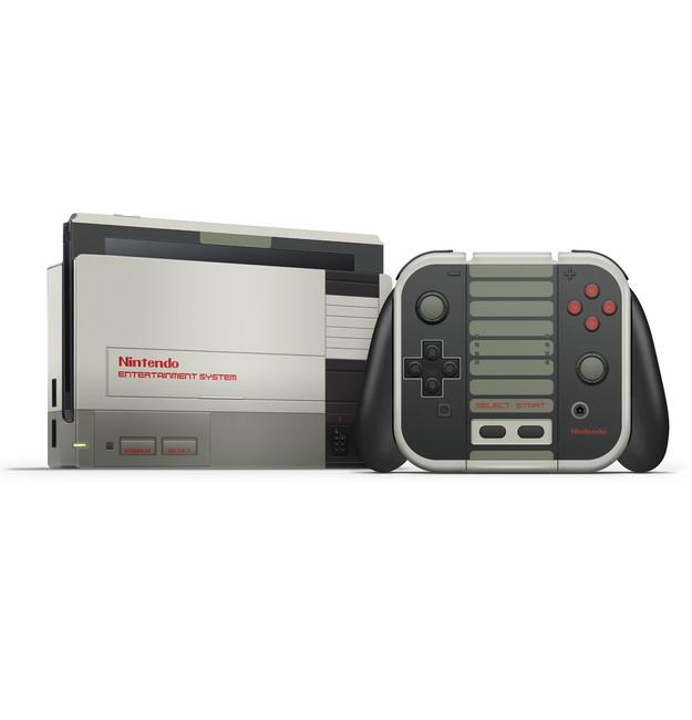 NES Nintendo Switch  Full Skin Set
