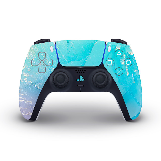 Fancy Marble Playstation 5 Controller Skin