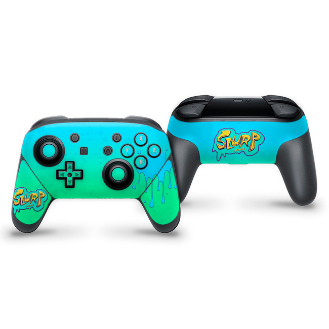 Slurp Juice Nintendo Switch Pro Controller Skin