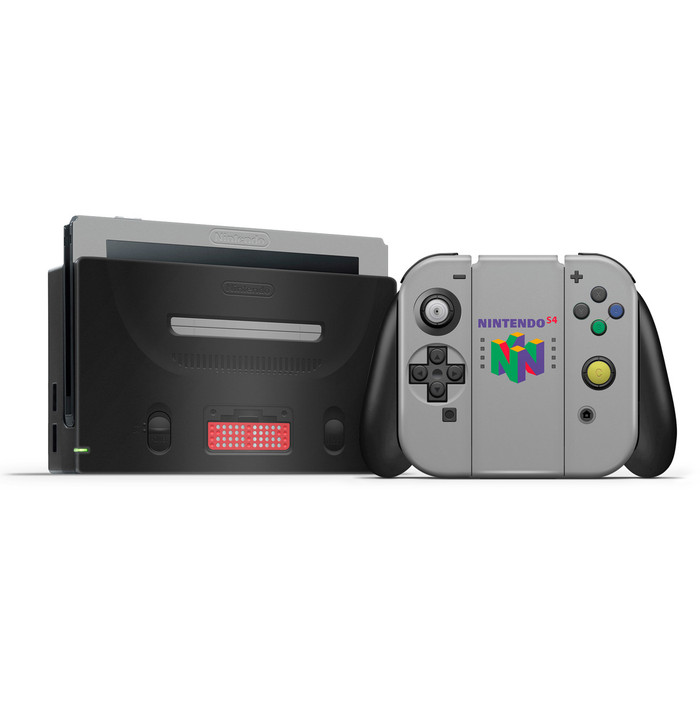 N64 Expansion Pak Nintendo Switch Skin Set