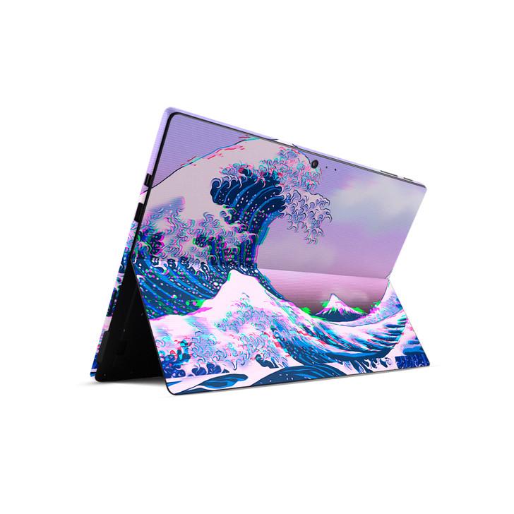 Glitchwave Microsoft Surface Pro Back Skin