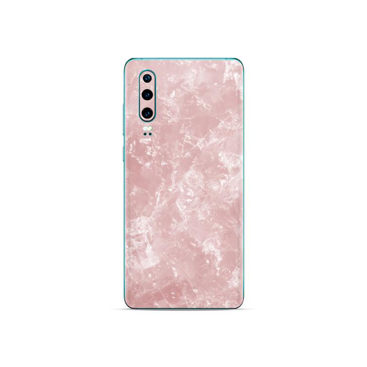 Pale Rose Quartz Huawei P30 Skin