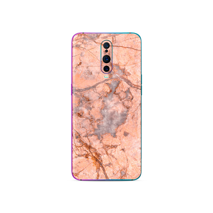 Salmon Marble Stone Oppo R17 Pro Skin