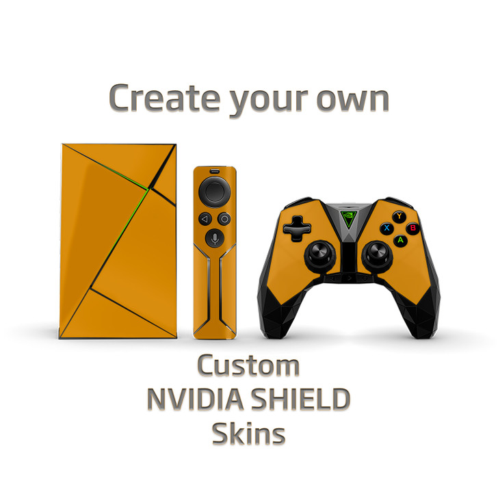 Custom NVIDIA SHIELD TV Remote & Controller Skins