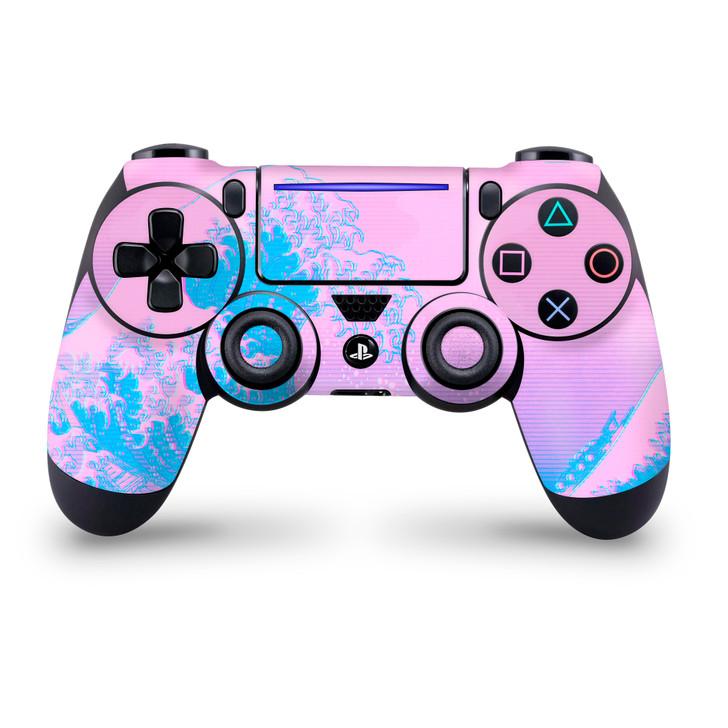 Kanagawave Playstation 4 Slim / Pro Controller Skin