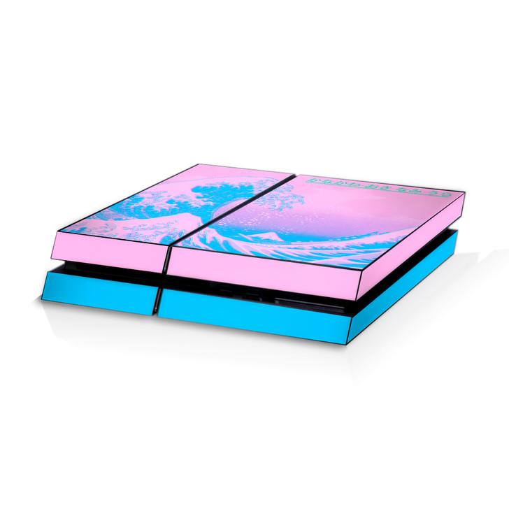Kanagawave Playstation 4 Console Skin
