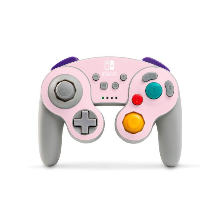 Pale Rose Nintendo Switch GameCube Style Controller (PowerA) Skin
