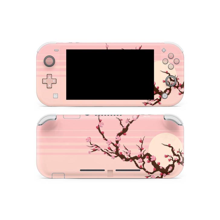 Lone Peach Blossom Nintendo Switch Lite Skin