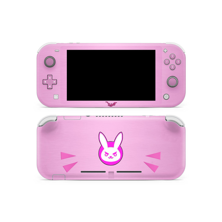 D.va Pink Nintendo Switch Lite Skin