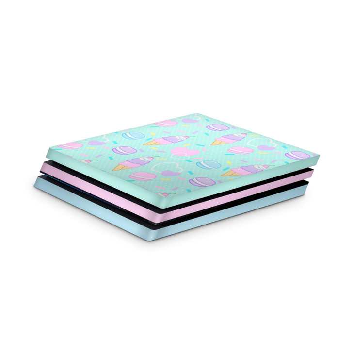 Fancy Sweets Playstation 4 Pro Console Skin