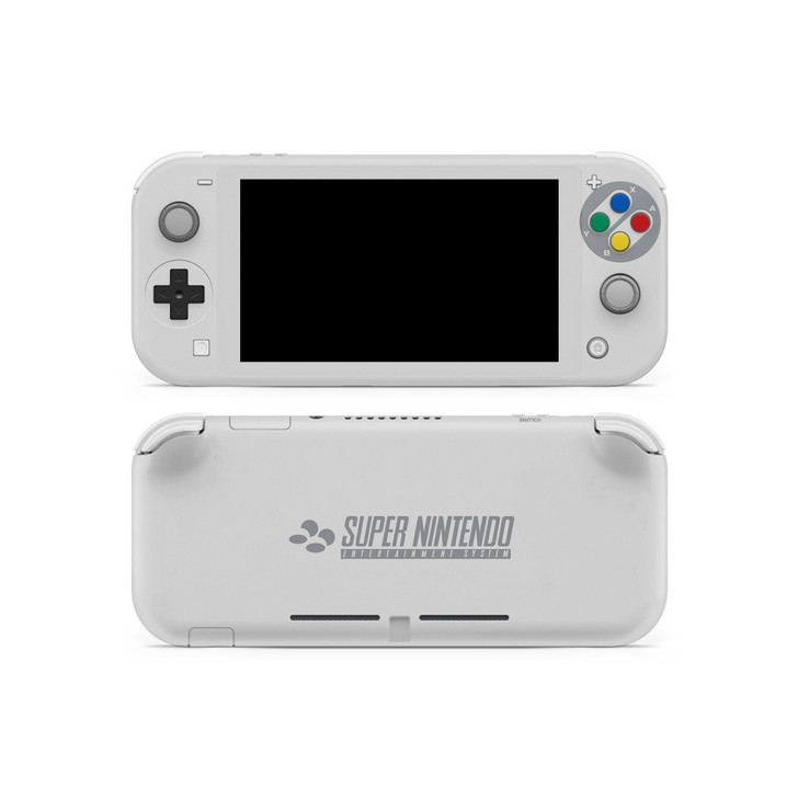 SNES Theme Nintendo Switch Lite Skin