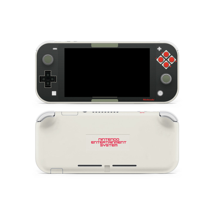NES V2 Theme Nintendo Switch Lite Skin