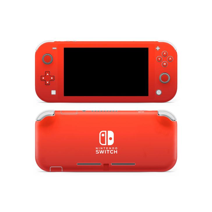 Nintendo Switch Lite Fire Red Skin